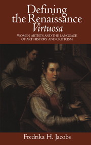 Defining the Renaissance 'Virtuosa'