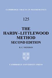 The Hardy-Littlewood Method