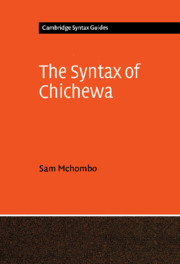 The Syntax of Chichewa