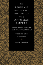 An Economic and Social History of the Ottoman Empire