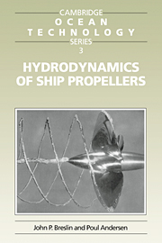 Hydrodynamics of Ship Propellers