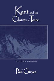 Kant and the Claims of Taste