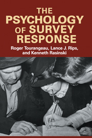 The Psychology of Survey Response
