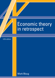 Theory of economic The History