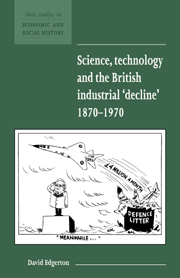 Science, Technology and the British Industrial 'Decline', 1870–1970