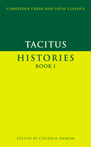 Tacitus: Histories Book I