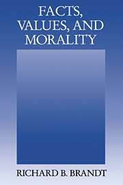 Facts, Values, and Morality