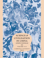 Science and Civilisation in China