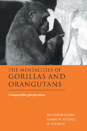 The Mentalities of Gorillas and Orangutans