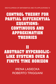 Control Theory for Partial Differential Equations
