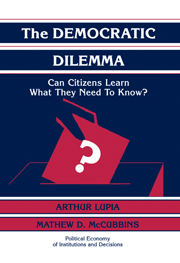 The Democratic Dilemma