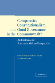 Comparative Constitutionalism and Good Governance in the Commonwealth