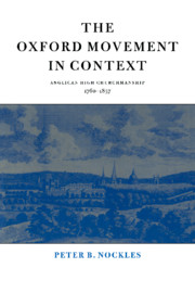 The Oxford Movement in Context