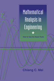 Mathematical Analysis in Engineering