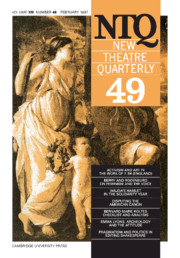 New Theatre Quarterly 49