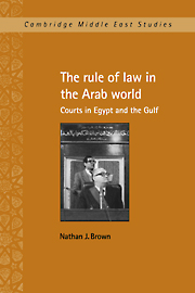 The Rule of Law in the Arab World