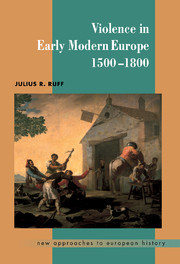 Violence in Early Modern Europe 1500–1800