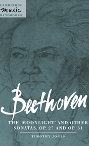 Beethoven: The 'Moonlight' and other Sonatas, Op. 27 and Op. 31
