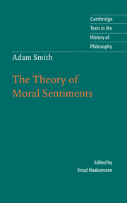 Adam Smith: The Theory of Moral Sentiments