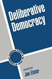 Deliberative Democracy