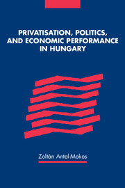 Privatisation, Politics, and Economic Performance in Hungary