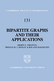 Bipartite Graphs and their Applications