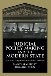 Judicial Policy Making and the Modern State
