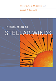 Introduction to Stellar Winds