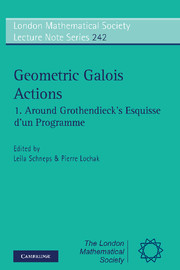 Geometric Galois Actions
