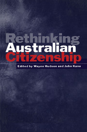 Rethinking Australian Citizenship