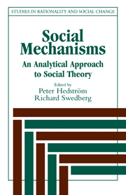Social Mechanisms