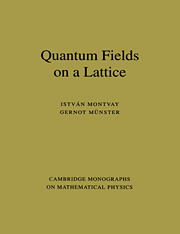 Quantum Fields on a Lattice
