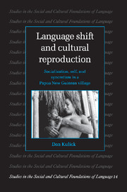 Language Shift and Cultural Reproduction