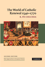 The World of Catholic Renewal, 1540–1770