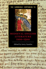 The Cambridge Companion to Medieval English Literature 1100–1500
