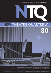 New Theatre Quarterly 80