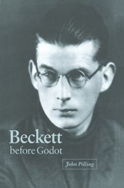Beckett before Godot