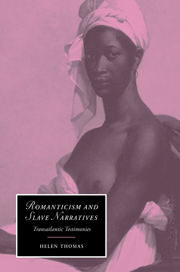 Romanticism and Slave Narratives