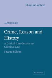 Crime, Reason and History