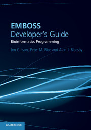 EMBOSS Developer's Guide