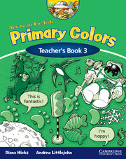 American English Primary Colors 3 Teacher's Book