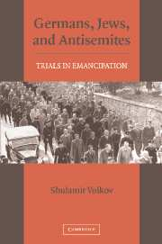 Germans, Jews, and Antisemites