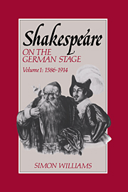 Shakespeare on the German Stage