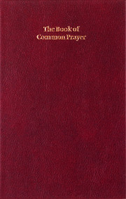 Book of Common Prayer, Enlarged Edition, Burgundy, CP420