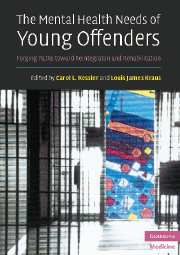 The Mental Health Needs of Young Offenders
