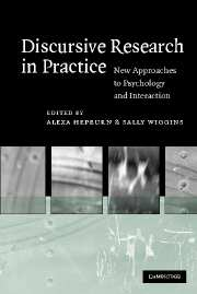 Discursive Research in Practice