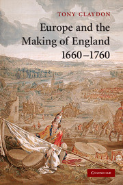 Europe and the Making of England, 1660–1760