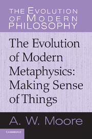Book Cover for The Evolution of Modern Metaphysics