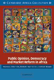 Public Opinion, Democracy and Market Reform in Africa