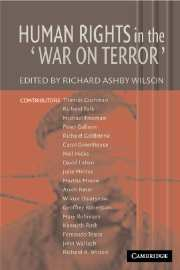 Human Rights in the 'War on Terror'